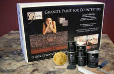DIY Countertop Painting Kits - The Giani Countertop Paint Kit Turns Laminate into Faux Granite