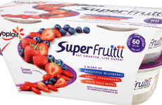 Mature Consumer Yogurts - The Yoplait Super Fruitti Yogurt for Adults is Flavorful Yet Low in Sugar