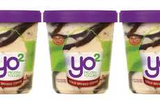 Caffeinated Frozen Yogurt Desserts - The Kemps Yo2 Cold Brewed Coffee Frozen Yogurt is Artisanal