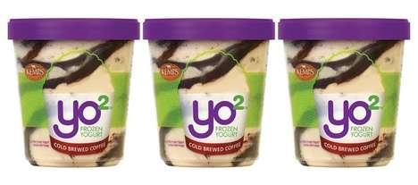 Caffeinated Frozen Yogurt Desserts