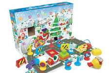 Advent Calendar Playsets - VTech's Toy Advent Calendar Includes a Road, Cars and a Storybook