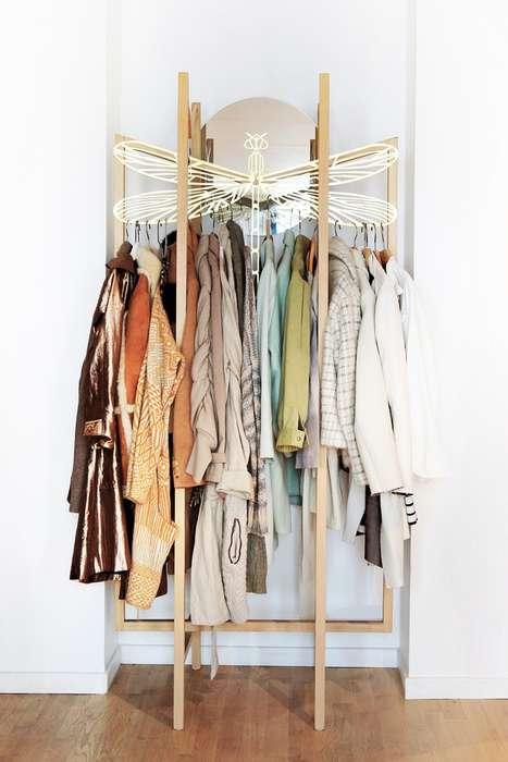 Whimsical Clothing Racks