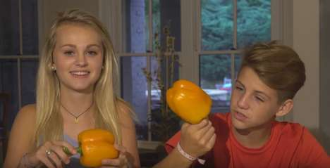 Spicy Food Challenges - Ivey and MattyBRaps Faced Off in a Hot Pepper Challenge on YouTube
