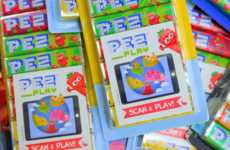 AR Code Candy Packaging - This PEZ Packaging Features Scannable Codes that Unlock Mobile Games