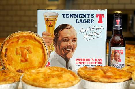 Lager-Infused Pie Promotions