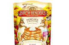 Sweet Potato Pancake Mixes - Birch Benders' Simple Baking Mix Only Requires the Addition of Water