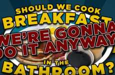 Bathroom Cooking Videos - Good Mythical Morning Launched a 'Cooking in the Bathroom Challenge'