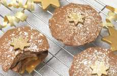Holiday Pie Chocolates - Choc on Choc Creates Chocolate Mince Pies with Caramel Centers