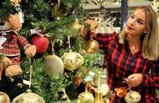 Tree-Decorating Retail Classes - John Lewis' 'Treetorials' Help Homeowners Perfect Christmas Decor
