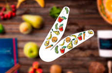 Detachable Yogurt Spoons - 'The Clever House' Created Spoons for On-the-Go Snacks