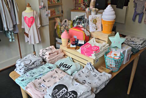 Children's Lifestyle Retailers - Kira Kids Fun Merchandise Like Graphic Tees and Collectible Toys
