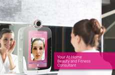 Digital Skin Analysis Mirrors - The 'HiMirror' Smart Beauty Mirror Assesses the State of Your Skin
