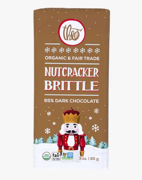 Christmas-Themed Chocolate Bars