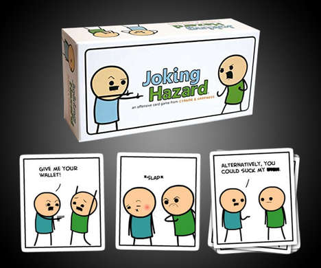 Adult Comic Strip Games - 'Joking Hazard' Enables Players to Make Comics that are Funny and/or Crude