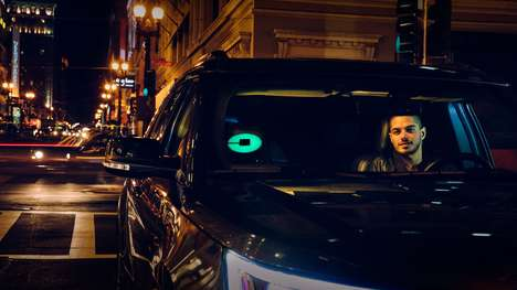 Customizable Rideshare Car Lights