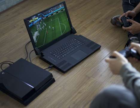 Smartphone-Powered Gaming Laptops - The 'XFINITUM' Hybrid Laptops Rely on Smartphones to Operate