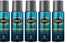 Drugstore Cologne Deodorants - The BRUT Sport Deodorant Offers a New Way to Enjoy the Scent