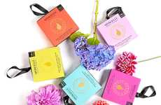 Hypoallergenic Cleansing Sponges - The Brand 'Spongelle' Offers Body Washes in Sponge Form