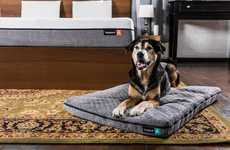 Ergonomic Pet Mattresses - The 'Yogapet' Dog Mats Ensure Pets Get a Good Night's Sleep
