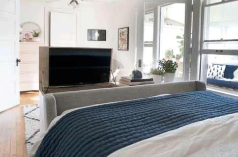 Hidden TV Bedroom Cabinets