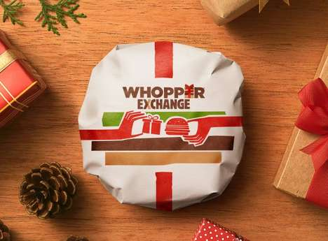 Gift Exchange Burger Promotions - The 'Whopper Exchange' Lets People Trade Poor Gifts for Burgers