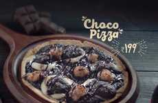 Chocolate Lover Pizzas - Domino's India is Now Serving Chocolate Pizzas Topped with Sweets