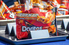 Portable Taco Bags - Frito Lay's Top N Go 'Walking Taco' Bags Are Inspired by Street Food