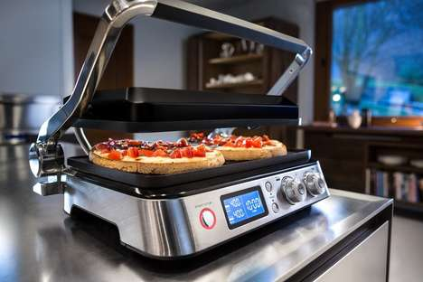The DeLonghi Livenza Combination Contact Grill Cooks a Bevy of Dishes