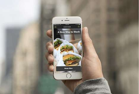 Advanced Ordering QSR Apps - The Shake Shack App Lets Consumers Order Early and Skip the Line