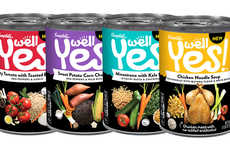 Healthy Artisanal Canned Soups - The Campbell's 'Well Yes!' Healthy Soups are a More Natural Choice