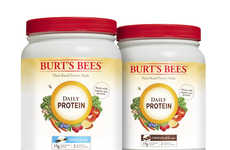 Personal Care Protein Powders - Burt's Bees is Now Producing Pea Protein Powders for Health