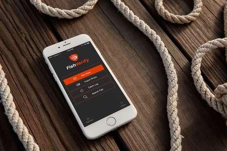 GPS Fish-Analyzing Apps
