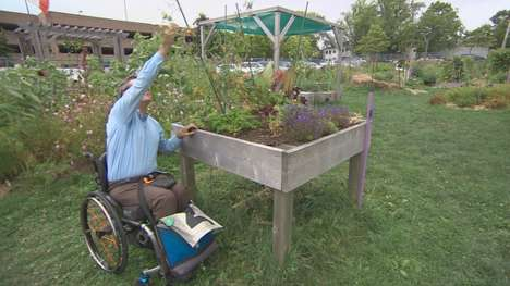Accessible Urban Gardens - The New Common Roots Urban Farm Garden is Wheelchair-Accessible