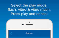 Hearing Impairment Dancing Apps - The App 'BW Dance' Visualizes Music for the Hearing Impaired