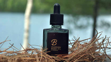 Conditioning Body Hair Oils - The 'Bushbalm' Pubic Hair Oils Soften and Moisturize