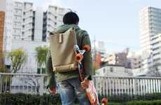 Weather-Resistant Traveler Backpacks - The Brooks England Pickwick Day Pack is Made with Quality