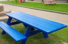 Wheelchair-Friendly Picnic Tables - Halifax's Accessible Picnic Tables Leave Space for Wheelchairs