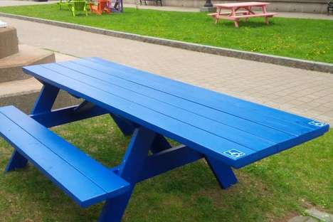 Wheelchair-Friendly Picnic Tables