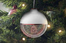 Gift-Tracking Ornaments