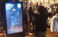 Smart Winterwear Mirrors - Superdry's Smart Retail Mirror Saves a Trip to the Dressing Room