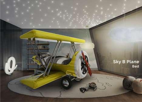 Adventurous Plane Beds