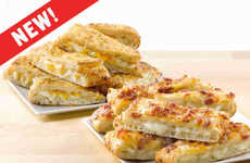 Cheese-Stuffed Side Dishes - Papa John's is Now Selling Stuffed Cheesesticks Alongside Its Pizzas