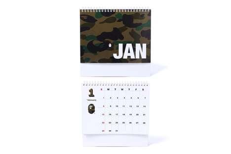 Streetwear-Branded Calendars