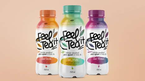 Energizing Bottled Teas