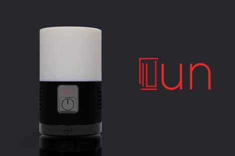 Multifunctional Tech Lamps