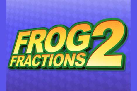 Nested Video Game Sequels - 'Frog Fractions 2' is Hidden Inside Another Game