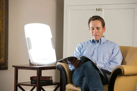 Design-Focused Winter Lights - The Verilux HappyLight Helps Combat Seasonal Affective Disorder