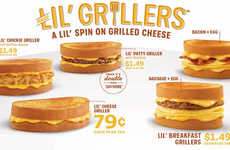 Snack-Sized Grilled Cheeses - Sonic's New Lil' Grillers Turn a Classic Dish into a Portable Snack