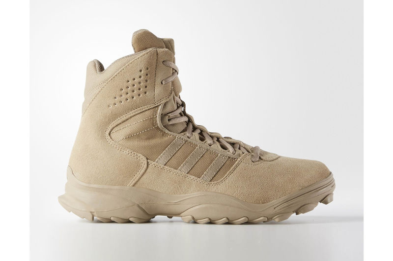 Military-Inspired Sneaker Boots