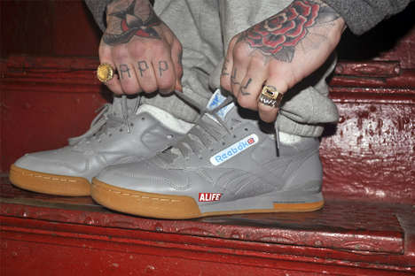 New York-Branded Sneakers - Alfie and Reebok's 'Phase 1 Pro' Classics Feature Statement Branding